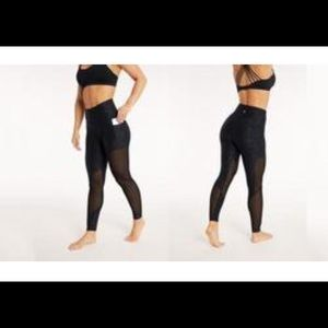 Bally Fitness High Waist sheer Leggings - Large